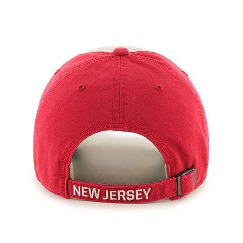 9fa1766d699 NEW JERSEY DEVILS MIDDLEBROOK  47 CLEAN UP DAD HAT