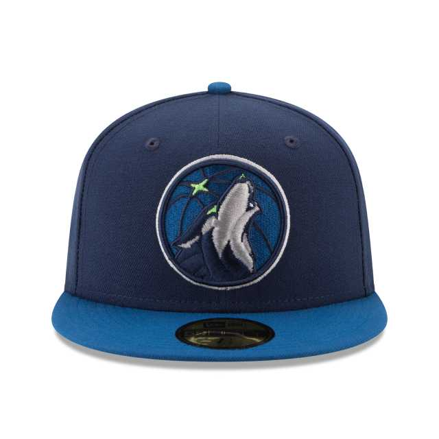 wholesale dealer 2dfd3 3608b NEW ERA NBA COLLECTION MINNESOTA TIMBERWOLVES 2TONE 59FIFTY FITTED