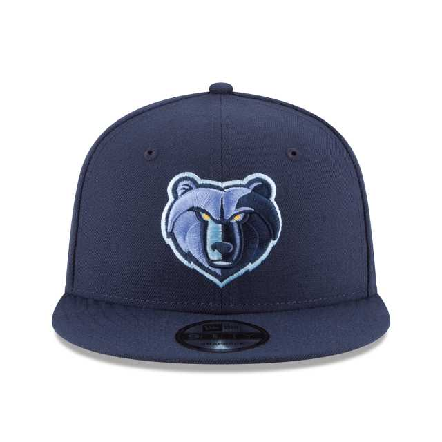 NEW ERA NBA COLLECTION MEMPHIS GRIZZLIES TEAM COLOR 9FIFTY SNAPBACK ... 3f1679becf8