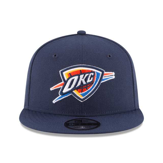 detailed look 709e7 4f4ee NBA COLLECTION OKLAHOMA CITY THUNDER TEAM COLOR 9FIFTY SNAPBACK