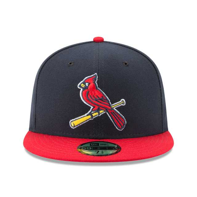 pretty nice 1d2aa fc684 NEW ERA MLB ON-FIELD COLLECTION ST. LOUIS CARDINALS AUTHENTIC COLLECTION  59FIFTY FITTED