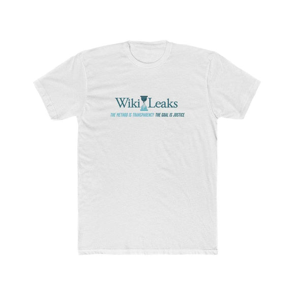 WikiLeaks Supporters - The Method is Transparency - Premium Fitted Tee