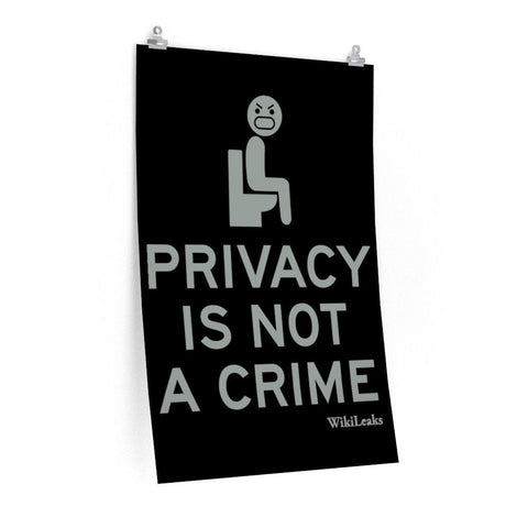 Privacy is Not a Crime - Poster