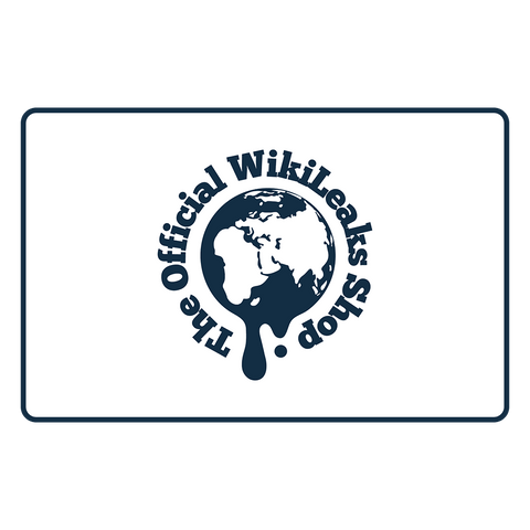 WikiLeaks Shop Gift Card