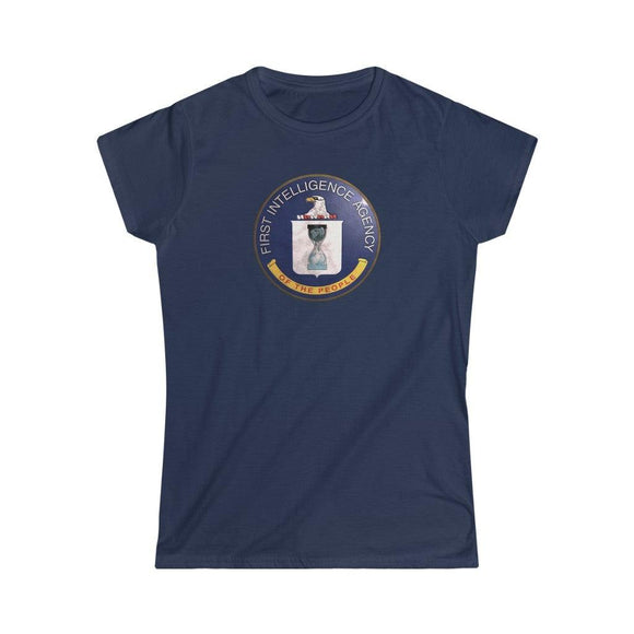 First Intelligence Agency of the People - Women's Slim Tee