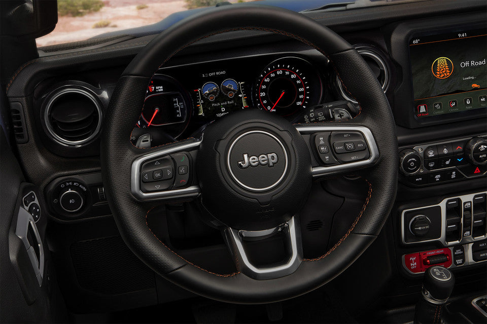 Jeep Wrangler Rubicon 392 Paddle Shifters