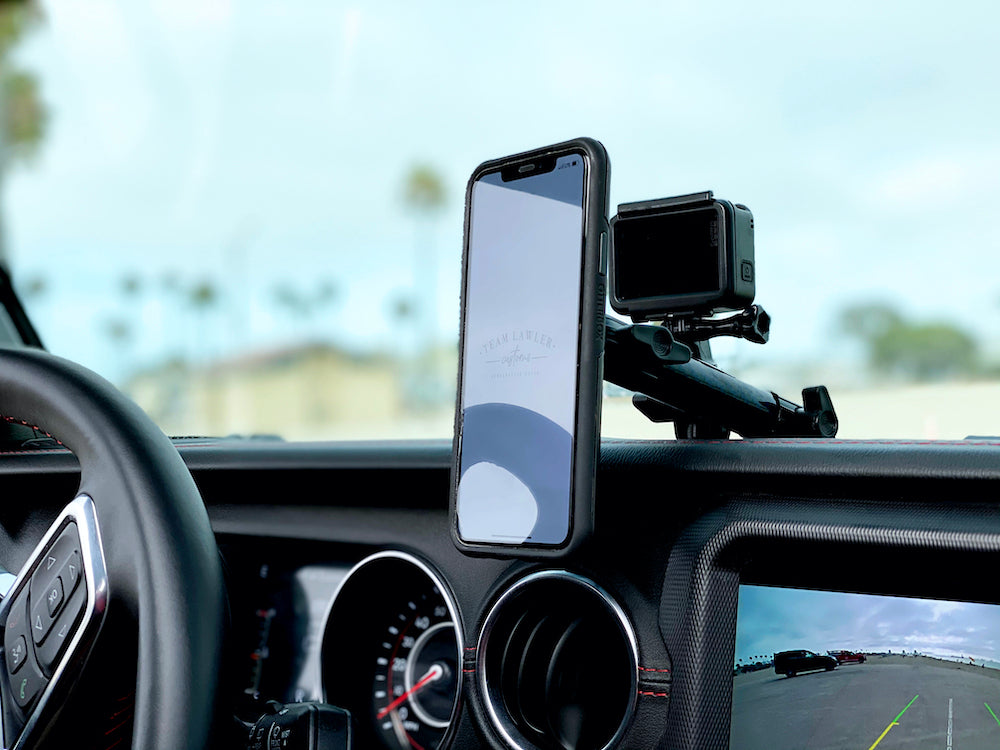 Bulletproof Jeep Wrangler JL Phone Mount Norman Lawler