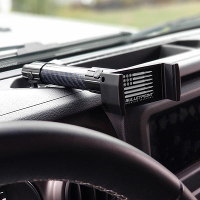 JEEP WRANGLER JL/JLU + GLADIATOR JT UNIVERSAL DRIVER AND PASSENGER PHONE MOUNT COMBO PACK (2018-2021)