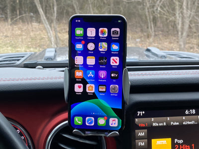Wireless Car Charger Mount for Phone - Includes 7cm Arm with 17mm Ball and 20mm Ball Connector - BASE SOLD SEPARATELY