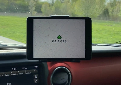 jeep wrangler tablet mount