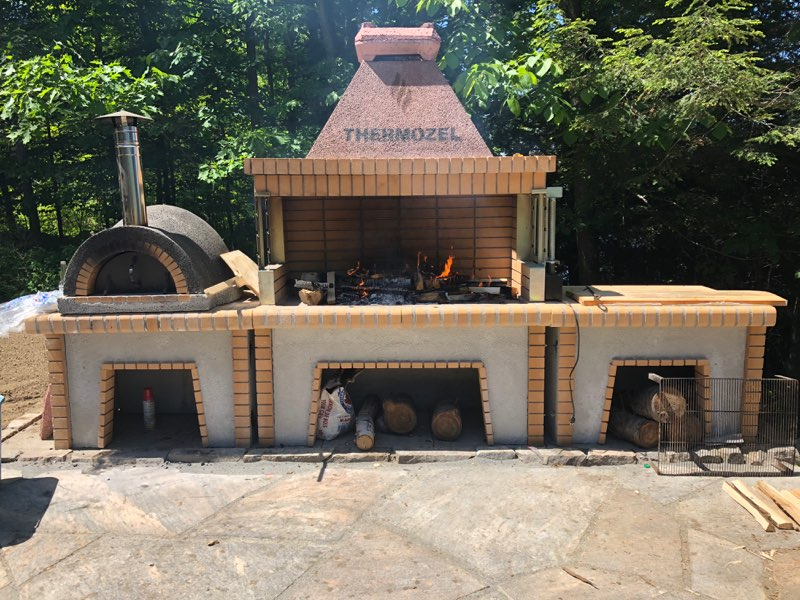 Mediterranean Outdoor Kitchen - Delivery included