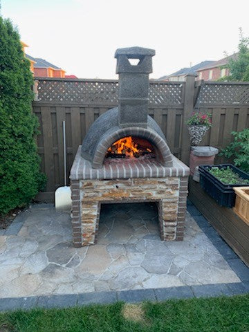 Large Wood Fired Pizza Oven