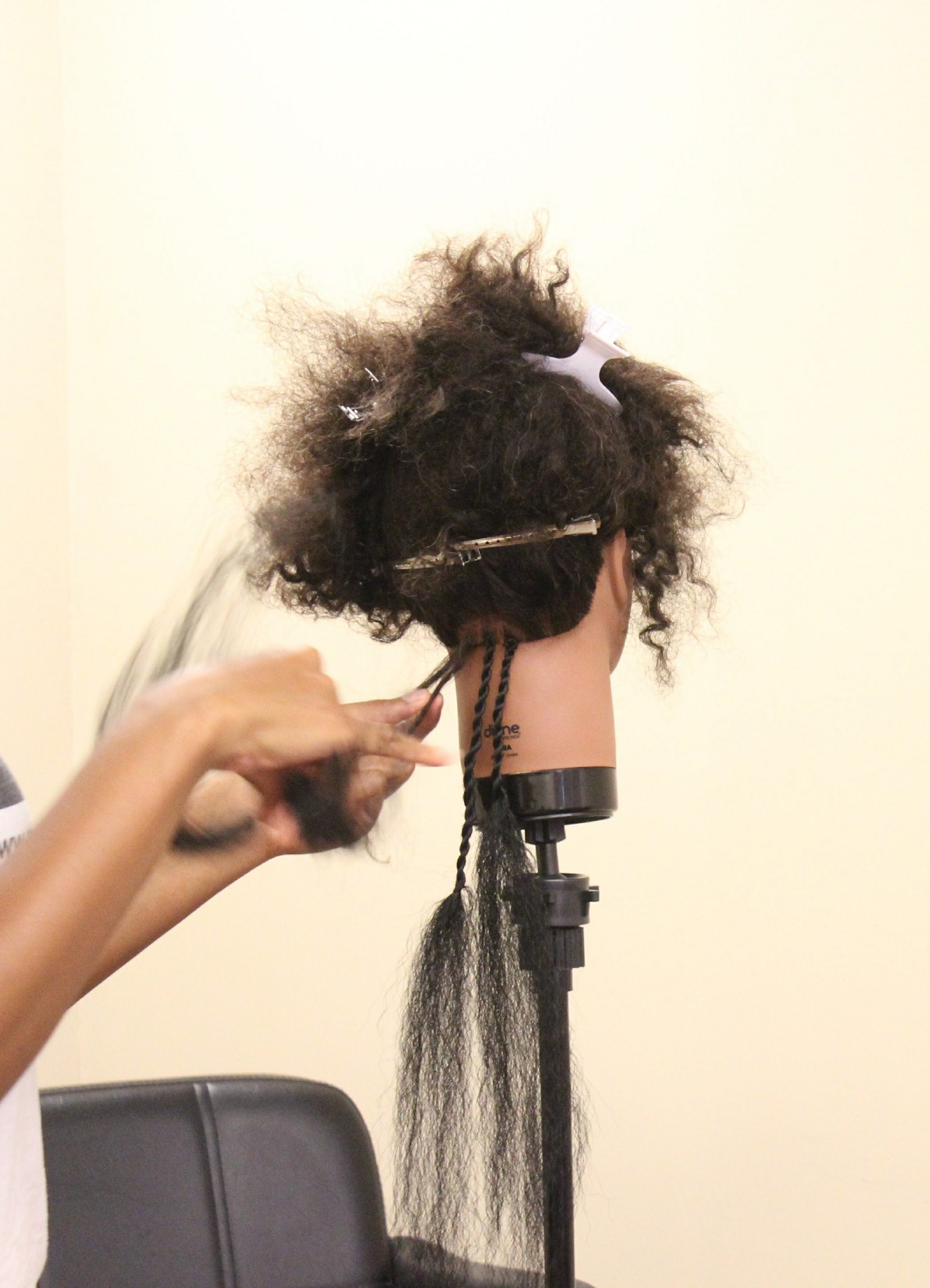 Deluxe Kinky Hair Student Kit