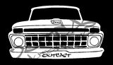 Outcast AutoWorks LLC 1965 Ford F-100 Vinyl Decal