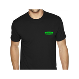 Outcast AutoWorks LLC. Green Logo T-Shirt