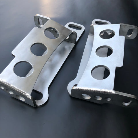 Crown Victoria Swap Upper Crossmember to Frame Brackets