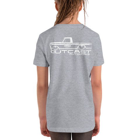 Girl's Youth Shop Truck Tee (4 Colors)