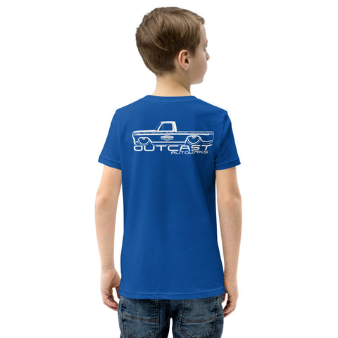 Boy's Youth Shop Truck Tee (5 Colors)