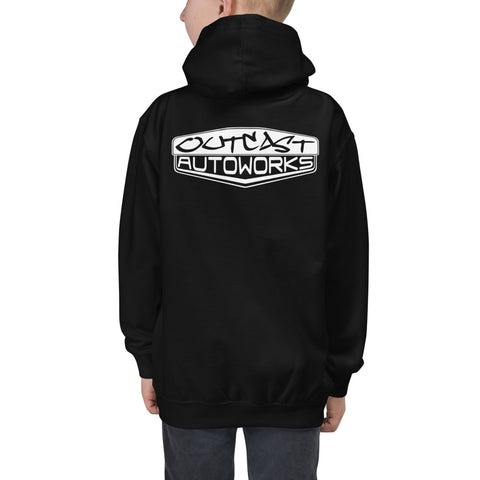 Boy's Youth Outcast Emblem Hoodie (2 Colors)