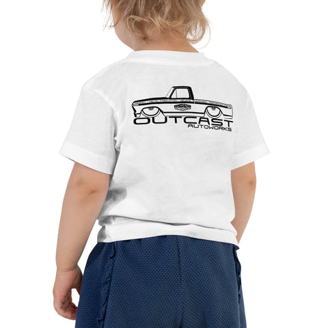 Girl's Toddler Shop Truck Tee (2 Colors)