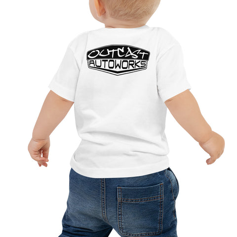 Baby Girl's Outcast Emblem Tee (2 Colors)