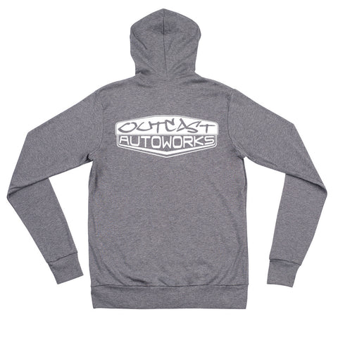 Men's Outcast Emblem Zip Hoodie (2 Colors)