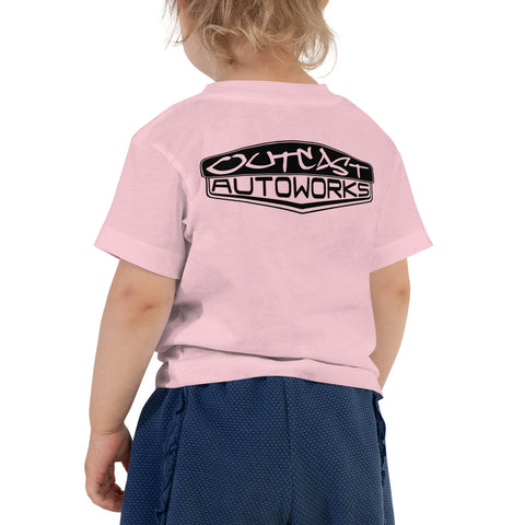 Girl's Toddler Outcast Emblem Tee (2 Colors)