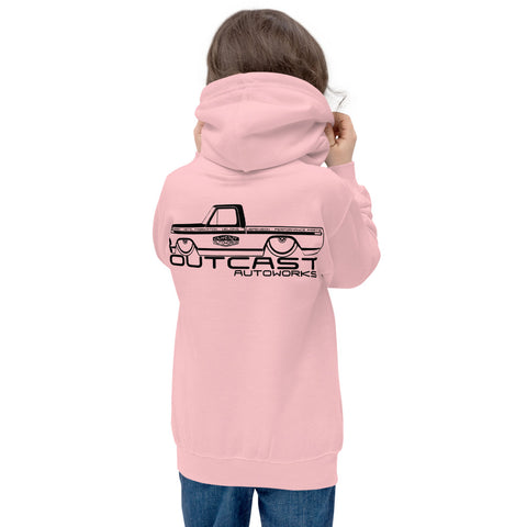 Girl's Youth Shop Truck Hoodie (2 Colors)