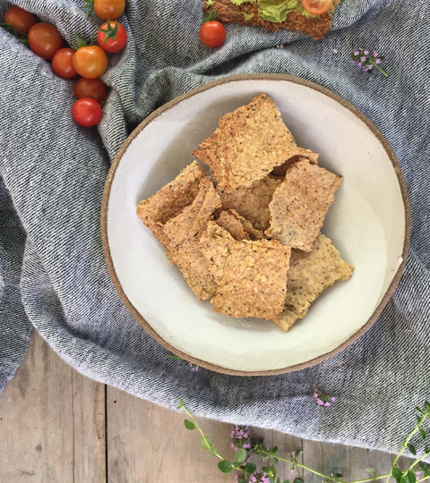 Oat & Thyme crackers