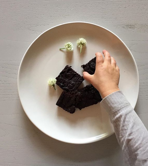 Super healthy Black Bean Brownie!
