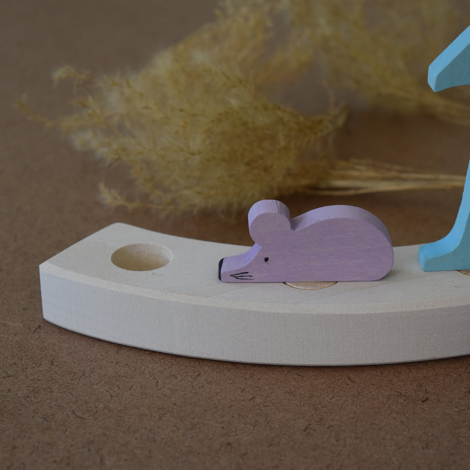 MOUSE. CELEBRATION RING DECORATION ~ GRIMMS