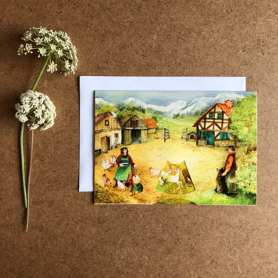 THE FARM MOVING CARD
