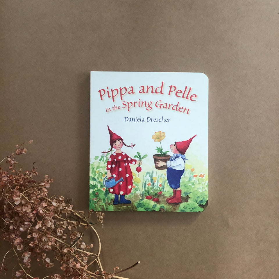 PIPPA AND PELLE IN THE SPRING GARDEN  ~ DANIELA DRESCHER