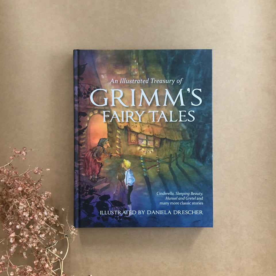 ILLUSTRATED TREASURY OF GRIMM'S FAIRYTALES ~ DANIELA DRESCHER