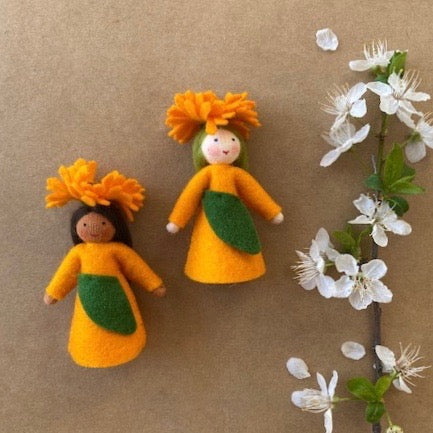 CALENDULA FLOWER FAIRY sold separately