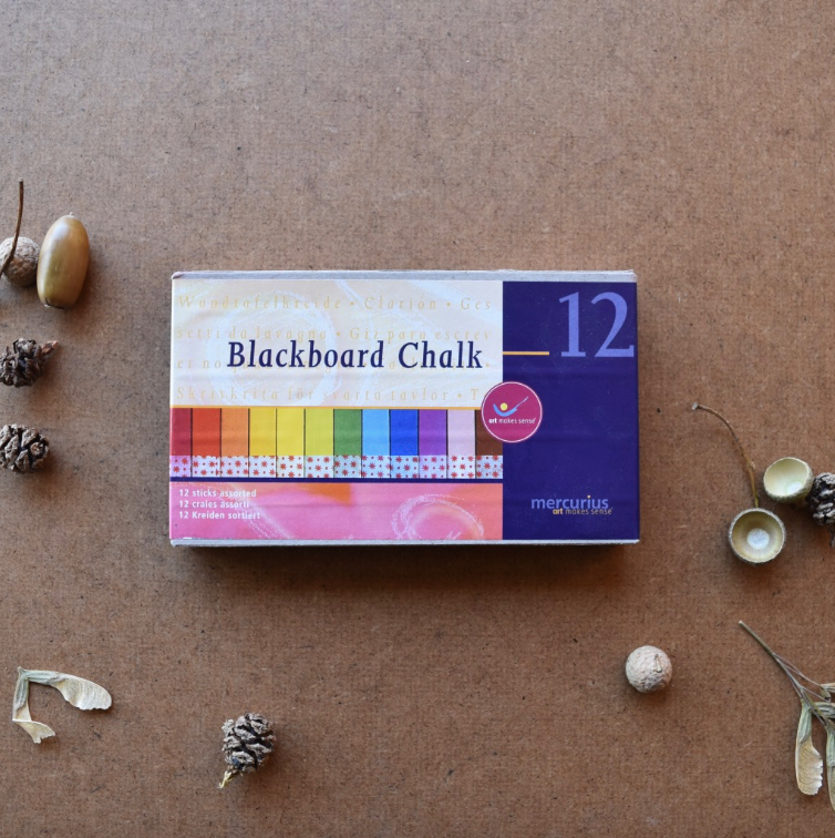 BLACKBOARD CHALK ~ 12 COLOURS