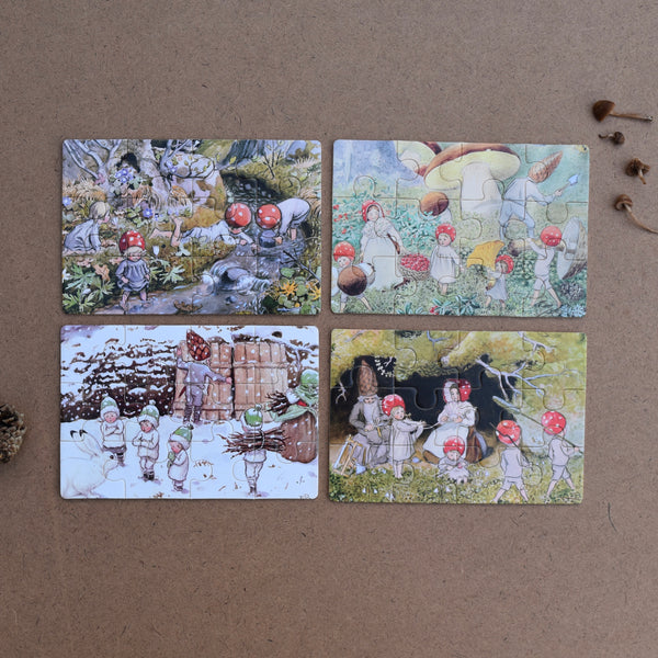 ELSA BESKOW ~ CHILDREN OF THE FOREST BOXED PUZZLE