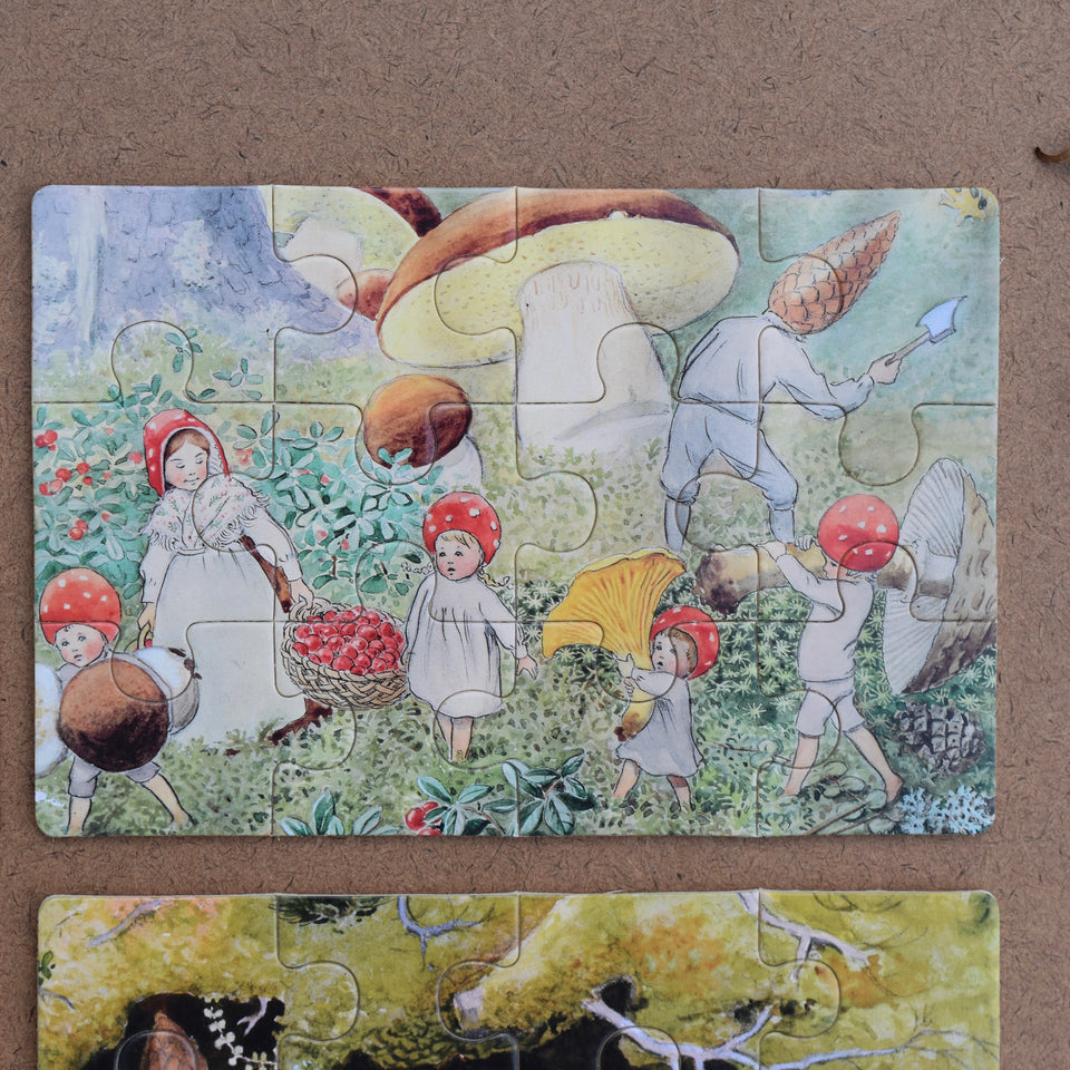 ELSA BESKOW ~ CHILDREN OF THE FOREST BOXED PUZZLE ~