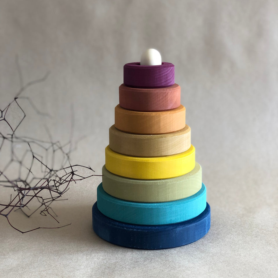 WOODEN STACKING TOWER ~ EARTH preorder for September