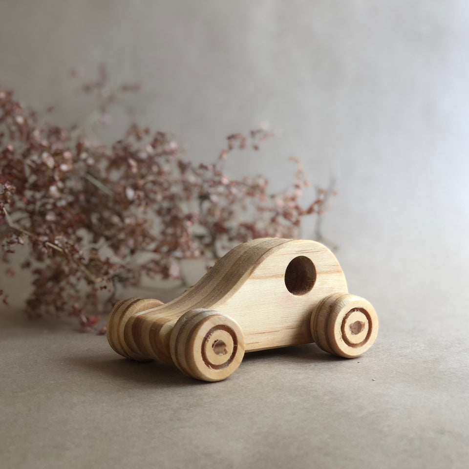 WOODEN CAR ~ HOHEPA