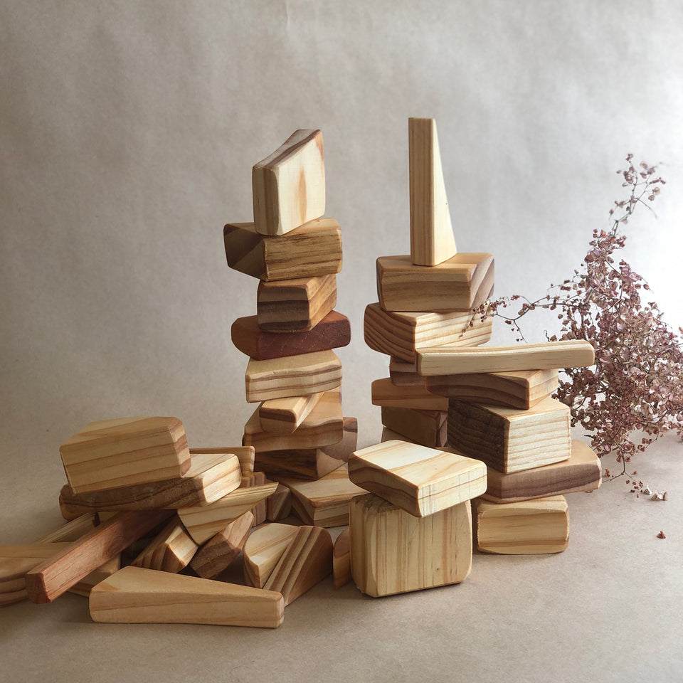 WOODEN BLOCKS ~ HOHEPA
