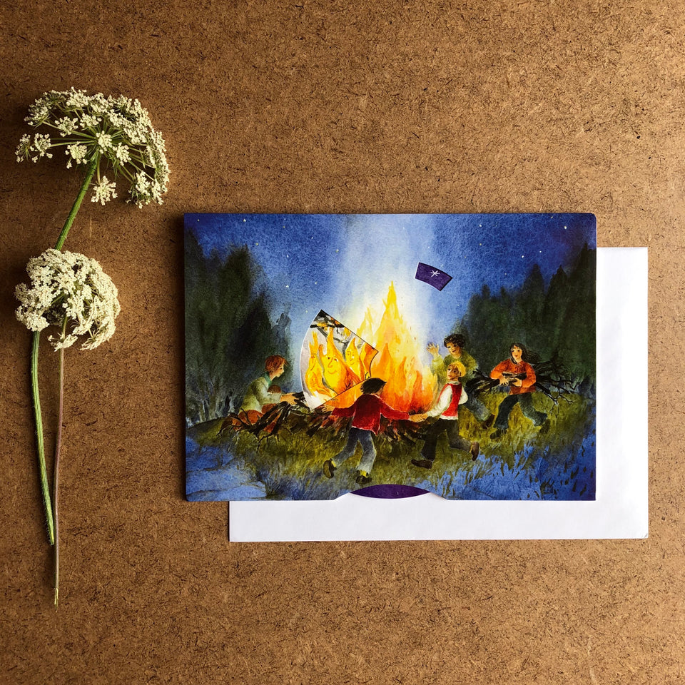 FIRE MOVING CARD