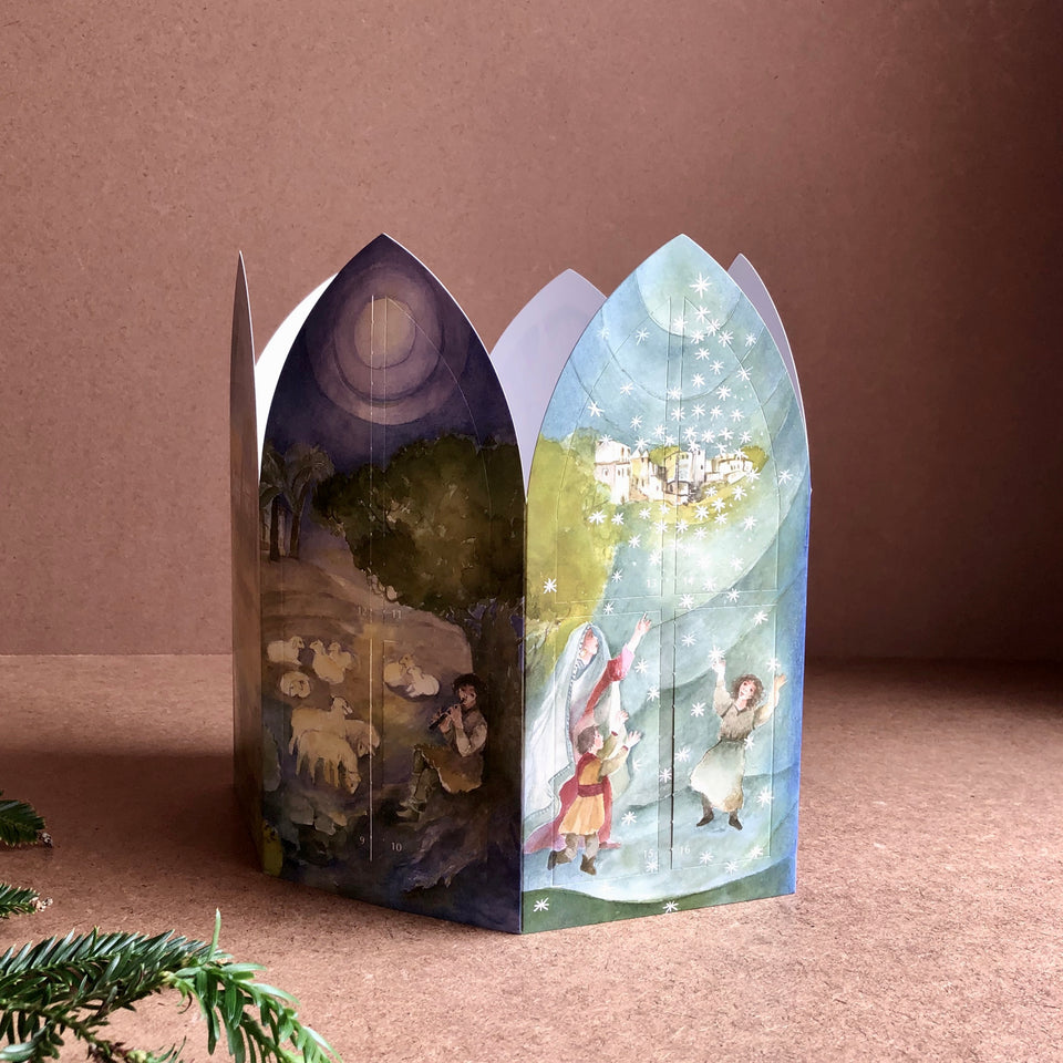 A CHRISTMAS STORY LANTERN ~ ADVENT CALENDAR