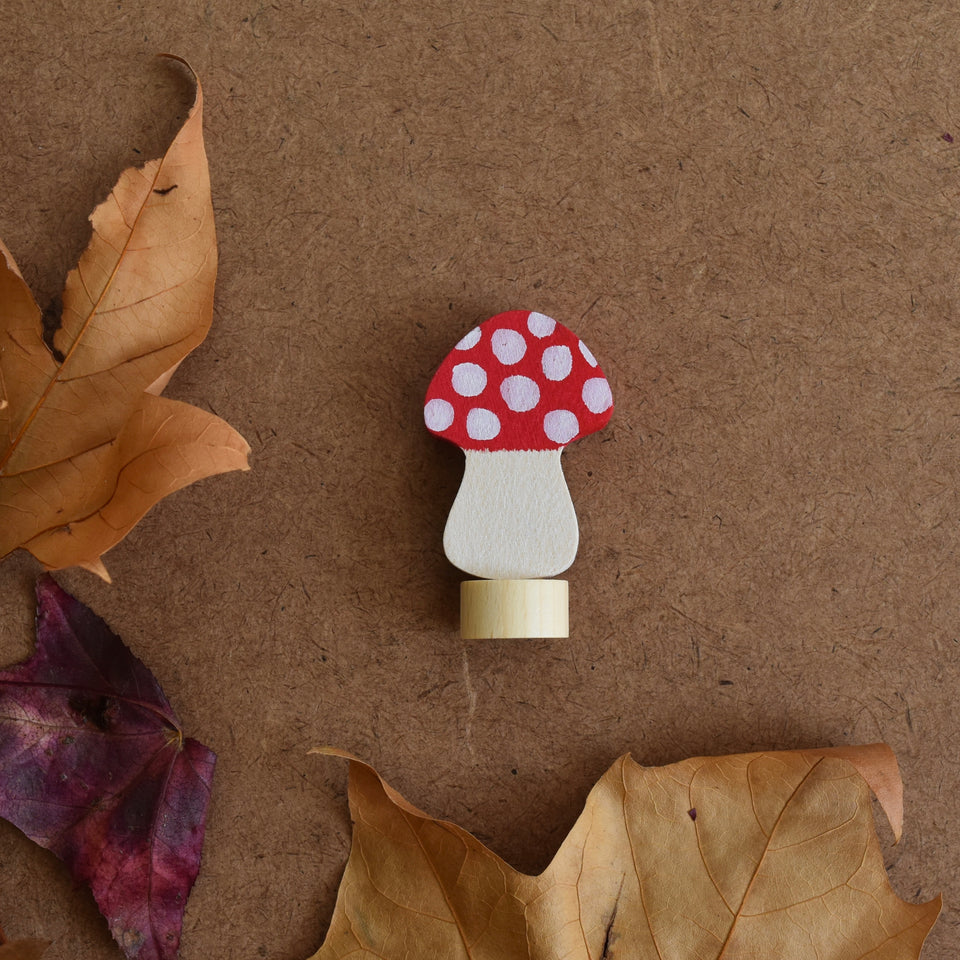 MUSHROOM ~ CELEBRATION RING DECORATION ~ GRIMMS