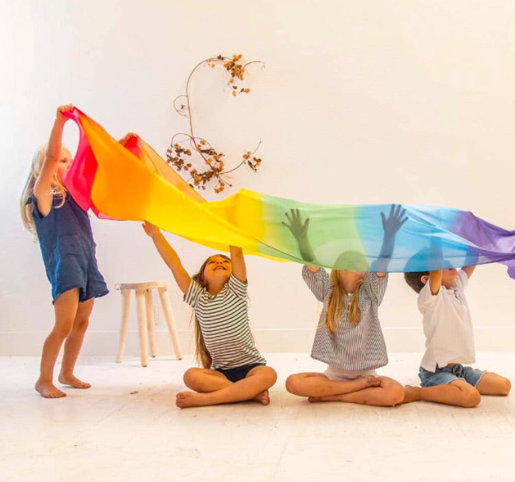 GIANT RAINBOW SILK ~ SARAH'S SILKS