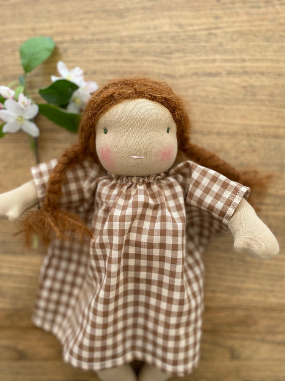 NOW $144 GABRIELLE ~ LONG LIMBED WALDORF DOLL ~ 31 cm