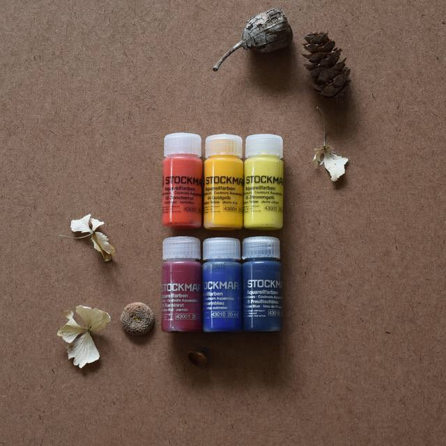 STOCKMAR PAINT~ 6 COLOURS