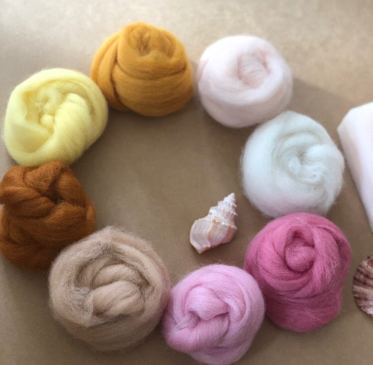 CHILDS NEEDLE FELTING KIT ~ SUNRISE