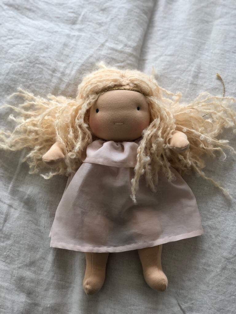 ROSE ~ small Waldorf doll SOLD
