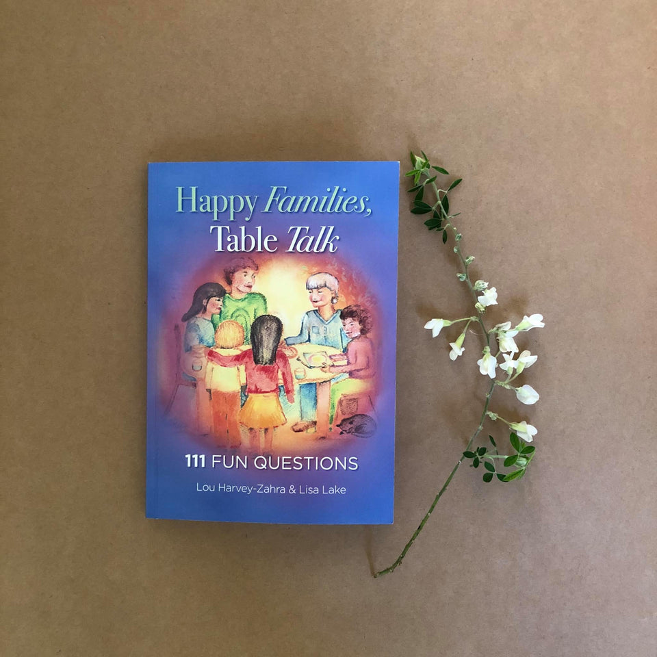HAPPY FAMILIES,TABLE TALK~ LOU HARVEY-ZAHRA